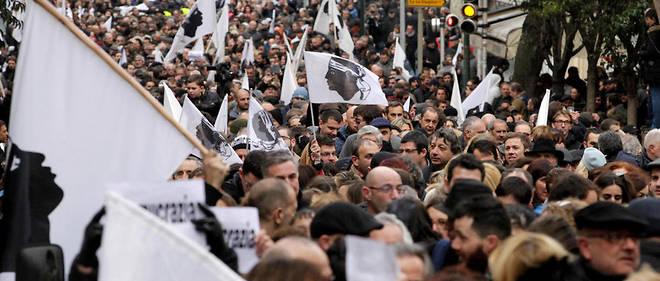 Rassemblement samedi à Ajaccio pour appeler le gouvernement au dialogue et à la négociation.