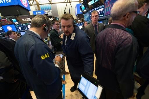 La cloture sur le New York Stock Exchange le 5 février 2018  © Bryan R. Smith AFP