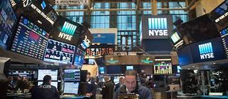L'indice vedette de la place new-yorkaise a drastiquement chuté après plusieurs mois d'euphorie boursière régulièrement saluée par le président Donald Trump.   ©BRYAN R. SMITH