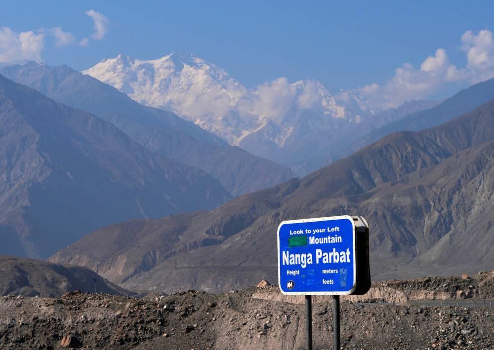 "Nanga Parbat, la ""montagne tueuse"" ©  AAMIR QURESHI / AFP"
