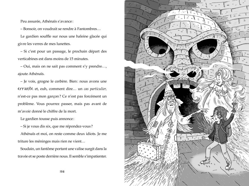 Les Fantômes d'Achille Plume ©  Sarbacane