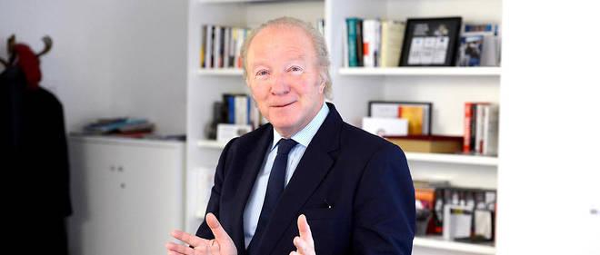 Installé. Le député européen Brice Hortefeux dans son bureau parisien du siège des Républicains, le 5février.