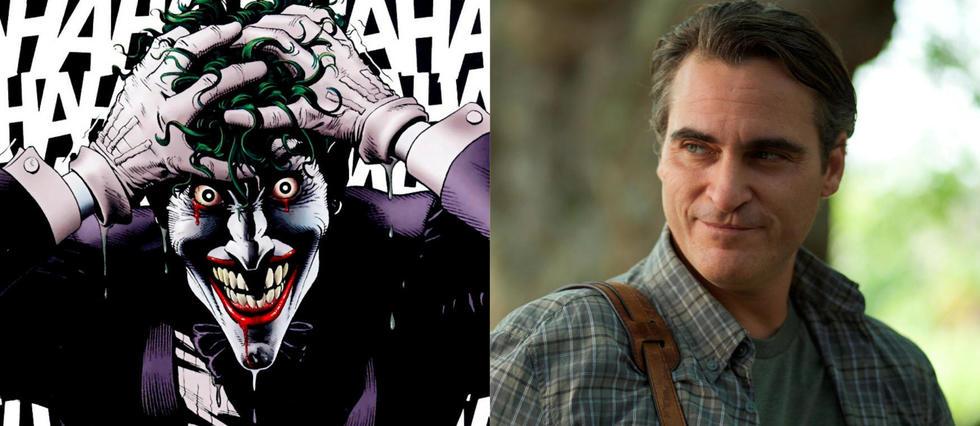 <p>Joaquin Phoenix est en discussion pour incarner le Joker.</p>