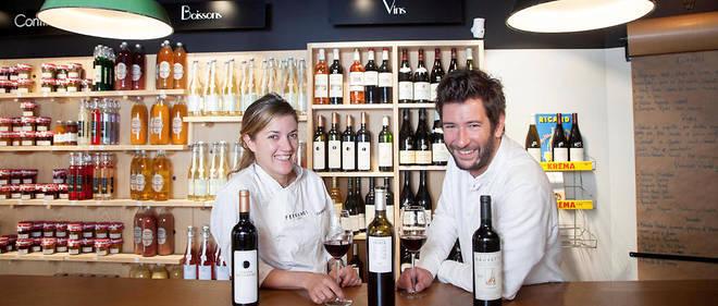 """""""Les Evadés"""", cave a vins à Aix en Provence avec Virginie et Arthur Galiano"""