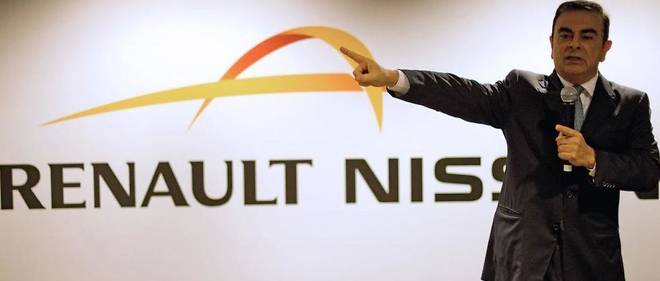 Carlos Ghosn, pilote de l'alliance Renault-Nissan.