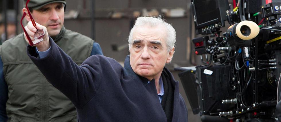 <p>Martin Scorsese sur le tournage d'Hugo Cabret (2011).</p>