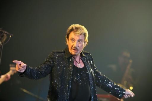 Johnny Hallyday en concert à Angoulême, le 8 novembre 2009 © Florent Duffour AFP/Archives