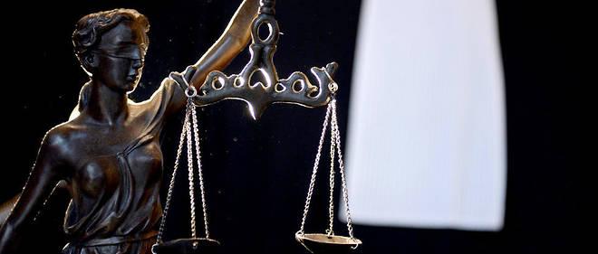 L'allégorie de la justice (illustration).