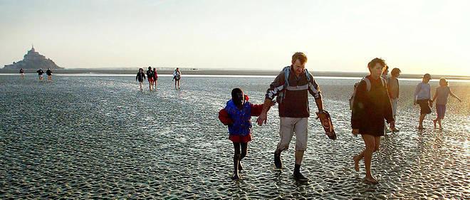 L'OMS encourage à faire 10 000 pas par jour, ce qui représente une heure de marche à pied. Illustration.