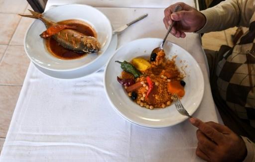 Un couscous servi dans un restaurant à Tunis, en Tunisie, le 25 janvier 2018 © FETHI BELAID AFP/Archives