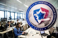 Locaux de l'Agence nationale de sécurité des systèmes d'nformation (Anssi). ©Marlene Awaad