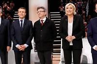 <p>Le 20 mars 2017, les cinq principaux candidats &#224; l'&#201;lys&#233;e se pr&#233;parent &#224; d&#233;battre.</p> ©PATRICK KOVARIK