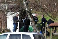 Les enquêteurs ont travaillé toute la journée pour tenter de retrouver la « quasi-totalité » des restes du corps de Maëlys.  ©PHILIPPE DESMAZES