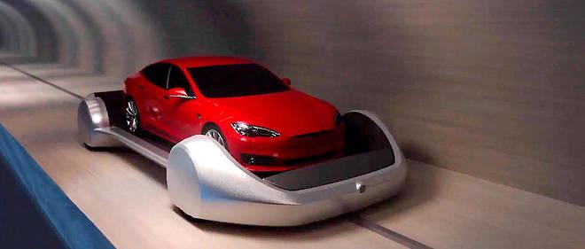 Le Loop, un projet de métro à grande vitesse sur patins électriques.