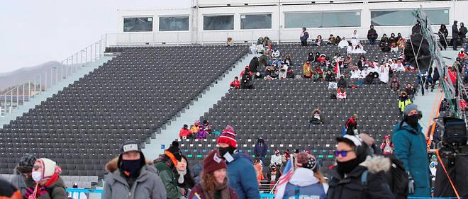 Les sports de neige intéressent peu le public asiatique, qui préfére la glace.
