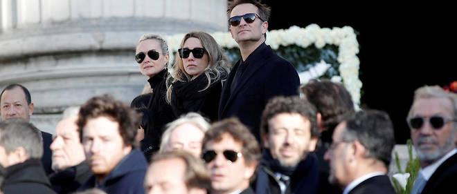 Le clan uni aux funérailles de Johnny Hallyday s'est fissuré deux mois plus tard.