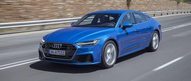 Audi A7 Sportback Decomplexee Automobile