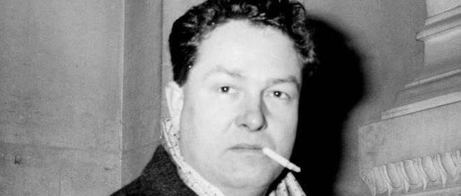 Jean-Marie Le Pen photographié le 4 février 1961 au Palais de Justice.