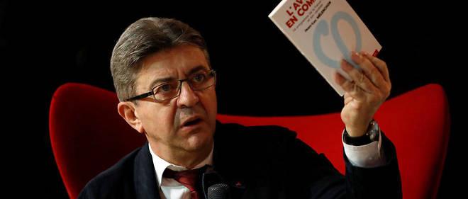 Jean-Luc Mélenchon lors de la campagne présidentielle, en 2017.