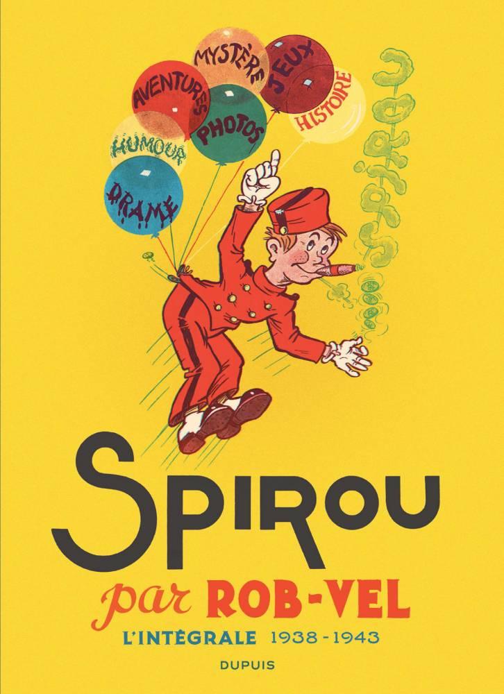 Spirou - Robvel cover_Mise en page 1 ©  DUPUIS