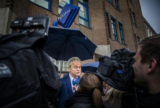 Le député néerlandais d'extrême droite Geert Wilders à La Haye, le 30 novembre 2017 © Bart Maat ANP/AFP