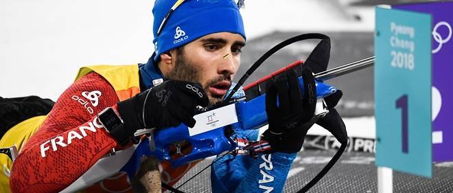 Martin Fourcade n'a pas pu guider le relais masculin vers un nouveau titre en biathlon.
