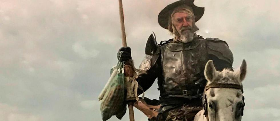 <p>Adam Driver et Jonathan Pryce dans&#160;<em>L'homme qui tua Don Quichotte</em>.</p>