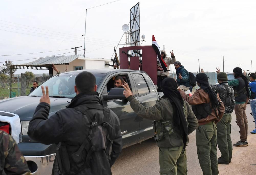 SYRIA-CONFLICT-TURKEY-KURDS-REGIME ©   GEORGE OURFALIAN / AFP