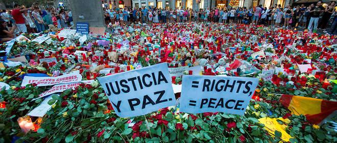 Lors de l'attentat sur les Ramblas de Barcelone, 15 personnes ont trouvé la mort le 17 août 2017.