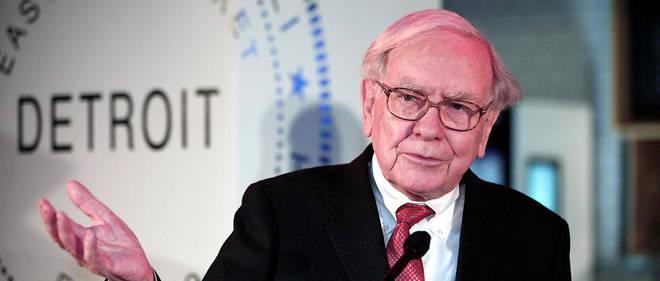Le multimilliardaire américain Warren Buffett.
