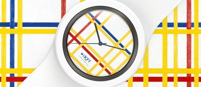 L'œuvre de Mondrian se glisse au poignet des amateurs d'art et d'horlogerie.