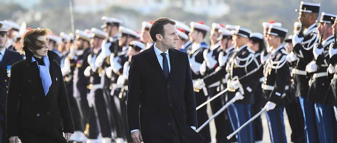 Emmanuel Macron et Florence Parly visitent deux camps de l'armée de terre jeudi 1er mars. (Illustration)