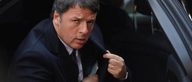 """Matteo Renzi en 2016. Cette année-là, il organise un référendum constitutionnel et met sa démission dans la balance. la réponse des Italiens est sans appel : 60 % des Itaiens votent """"non"""" à la réforme."""