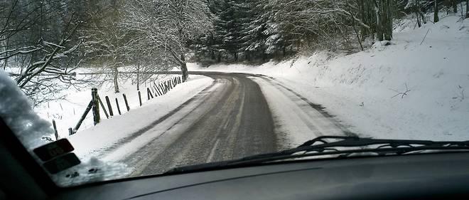 La journée du 1er mars a été une journée noire sur les routes de l'Hérault à cause de la neige mais le redoux est attendu pour le 2 mars (illustration).