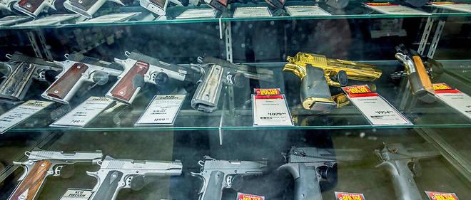 Un magasin d'armes dans le Missouri (photo d'illustration).