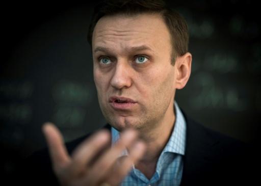 La principale figure de l'opposition Alexei Navalny à Moscou le 16 janvier 2018 © Mladen ANTONOV AFP/Archives