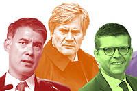 Faure, Le Foll, Carvounas, Maurel : les quatre candidats à la tête du Parti socialiste.