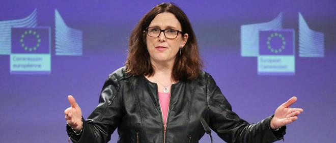 «Il n'y a pas de gagnants dans une guerre commerciale», a affirmé la commissaire européenne au Commerce Cecilia Malmström
