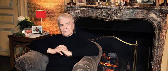 Intime.Bernard Tapie dans l'appartement de sa fille aînée, Nathalie, situé dans une aile de son hôtel particulier, à Paris, jeudi 1ermars.