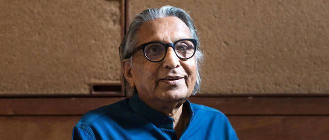 Le lauréat du prix Pritzker 2018, dans son bureau d'Ahmedabad, à Sangath.
