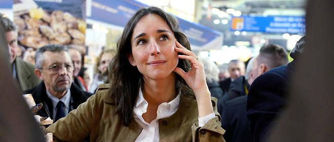 Apprentissage. Brune Poirson, 35 ans, secrétaire d'État auprès du ministre de la Transition écologique et solidaire, au Salon de l'agriculture, à Paris, le 27 février.