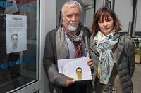 Cécile et Didier Noyer sont les parents d'Arthur Noyer, militaire au 13e BCA qui a été retrouvé mort.  ©Thierry GUILLOT