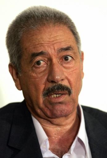 """L'ancien responsable irakien Ali Hassan al-Majid, dit """"Ali le chimique"""" durant son procès en 2004  © KAREN BALLARD POOL/AFP/Archives"""
