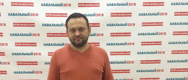 Sergueï Boïkou milite depuis cinq ans au sein du mouvement d'Alexeï Navalny, dont il pilote aujourd'hui l'antenne moscovite.