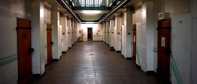 Dans le quartier disciplinaire de la prison de Fresnes, en janvier.