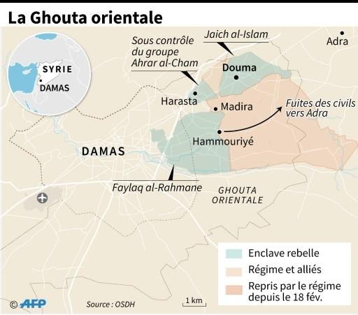 La Ghouta orientale ©  AFP