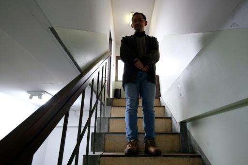 Le Japonais Ikeida a choisi de se mettre en retrait de la société, dont il ne supportait pas la pression. Photo prise le 8 mars 2018 © Kazuhiro NOGI AFP