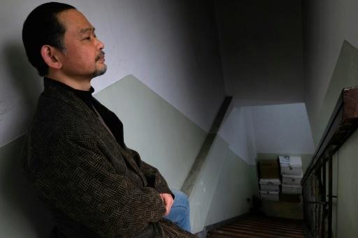 Il sort de chez lui tous les trois jours uniquement pour aller s'acheter de quoi se nourrir. Photo prise le 8 mars 2018 © Kazuhiro NOGI AFP