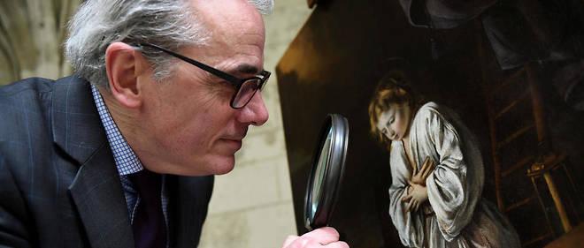 Stéphane Pinta a fait partie de l'expertise de ce tableau jusqu'à présent inconnu des peintres français Le Nain.
