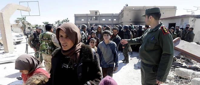 Plus de 20 000 civils ont fui la Ghouta orientale, assiégée depuis le mois de février par les forces du régime syrien.